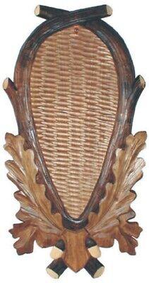 29x17cm 031703 Brett Trophäenschild für reh aus holz Stangen Geweih
