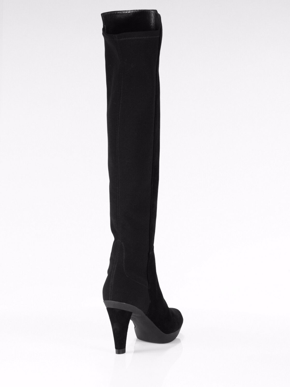 645 Stuart Weitzman Demi Over The Knee Suede Stretch Back bottes femmes 10.5 NEW 3c1426