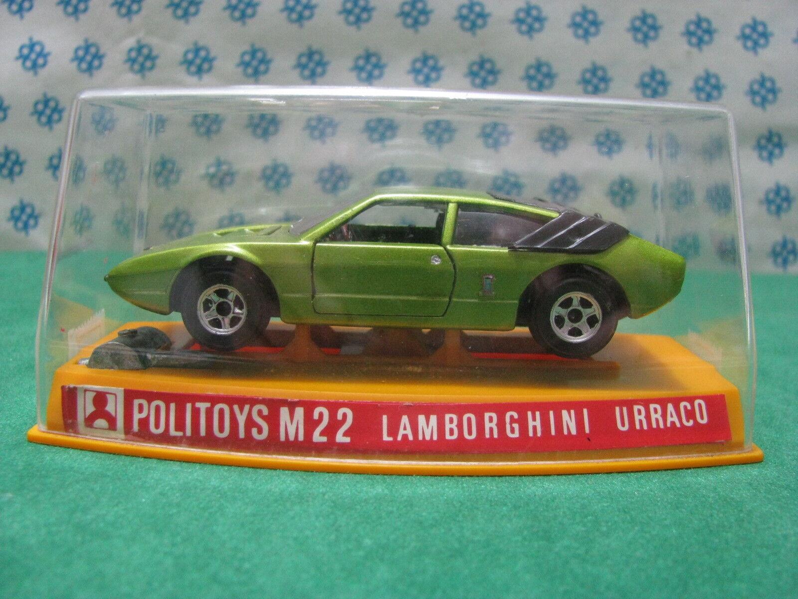 .Vintage - LAMBORGHINI URRACO - 1 43 Politoys-M22
