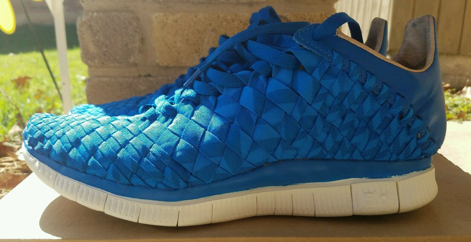 VNDS Nike Free Inneva Woven SP Photo bluee Size 9.5
