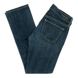 COH-Citizens-Of-Humanity-Women-039-s-Jeans-AVA-Low-Rise-Straight-Dark-Size-27-X-30