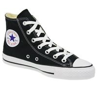 Converse Black High-tops Mens 8 1/2 /women's Size 10 1/2 Measure Inches Long