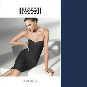Das Bild wird geladen Wolford-Fatal-Dress-M-cobalt-kann-als-Rock- f61b430980