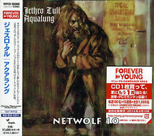 Jethro Tull - Aqualung - CD - Remastered 2014 - Japan OBI - Sealed