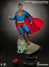 SIDESHOW EXCLUSIVE SUPERMAN Christopher Reeve Premium FORMAT FIGURE STATUE NEW!