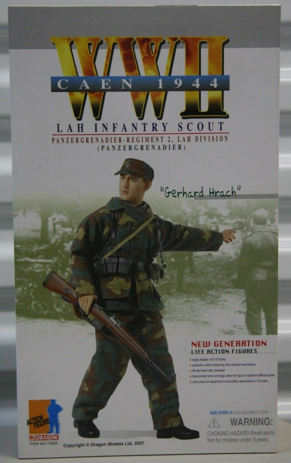 DRAGON MODELS 1 6 SCALE  WWII GERMAN LAH INFANTRY SCOUT  GERHARD HRACH