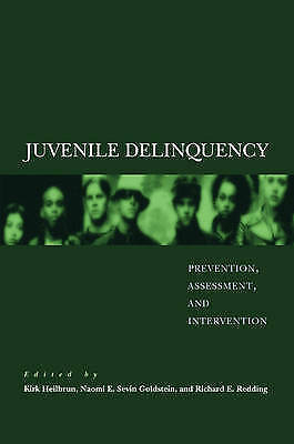 1 of 1 - , Juvenile Delinquency: Prevention, Assessment, and Intervention, , Book