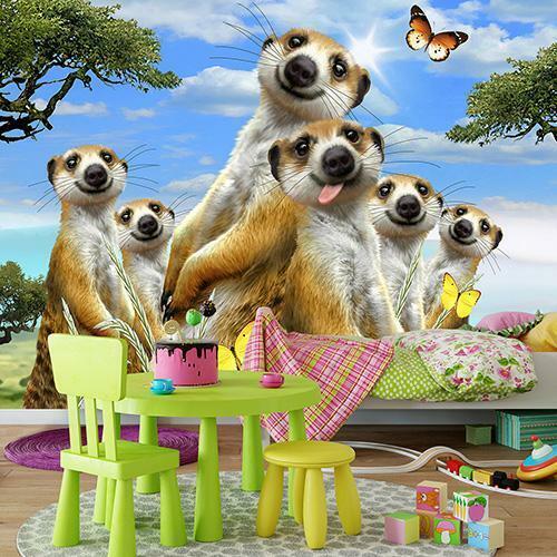 Fauna Fototapete Tapete Poster F14774536 Lustige Tier-Selfies  Tiere