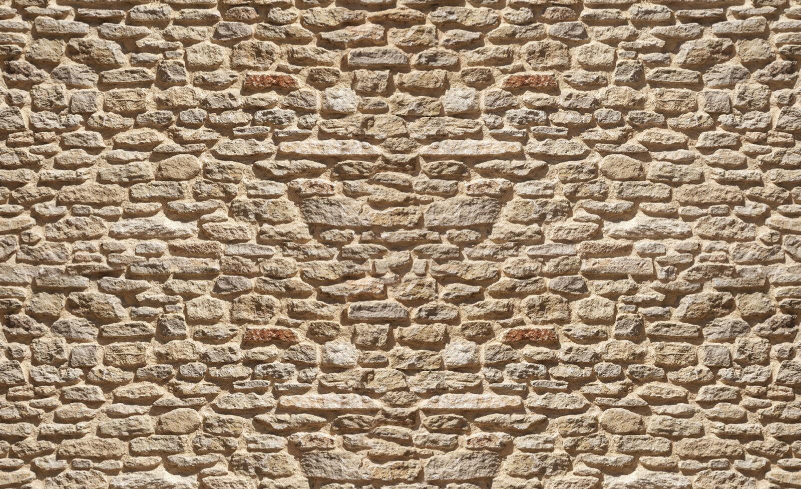 Fotomurale Fotomurale Fotomurale tessuto non tessuto-Muro di Pietra - (1928) - Pietre Deco Parete Muro struttura MURALS XXL 30680f