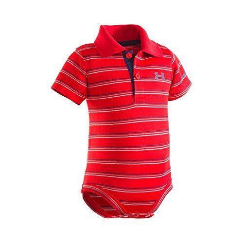 Under Amour Childrens Apparel Armour Baby-Boys Newborn Yarn Dye Polo