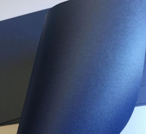 STARDREAM PAPER X 160  SAPPHIRE NAVY BLUE METALLIC PAPER A4 210mmx297mm