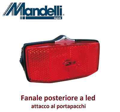 Stop portap con batterie per Bici 20-24-26 Cruiser Kit a led Faro//Fanale Nero