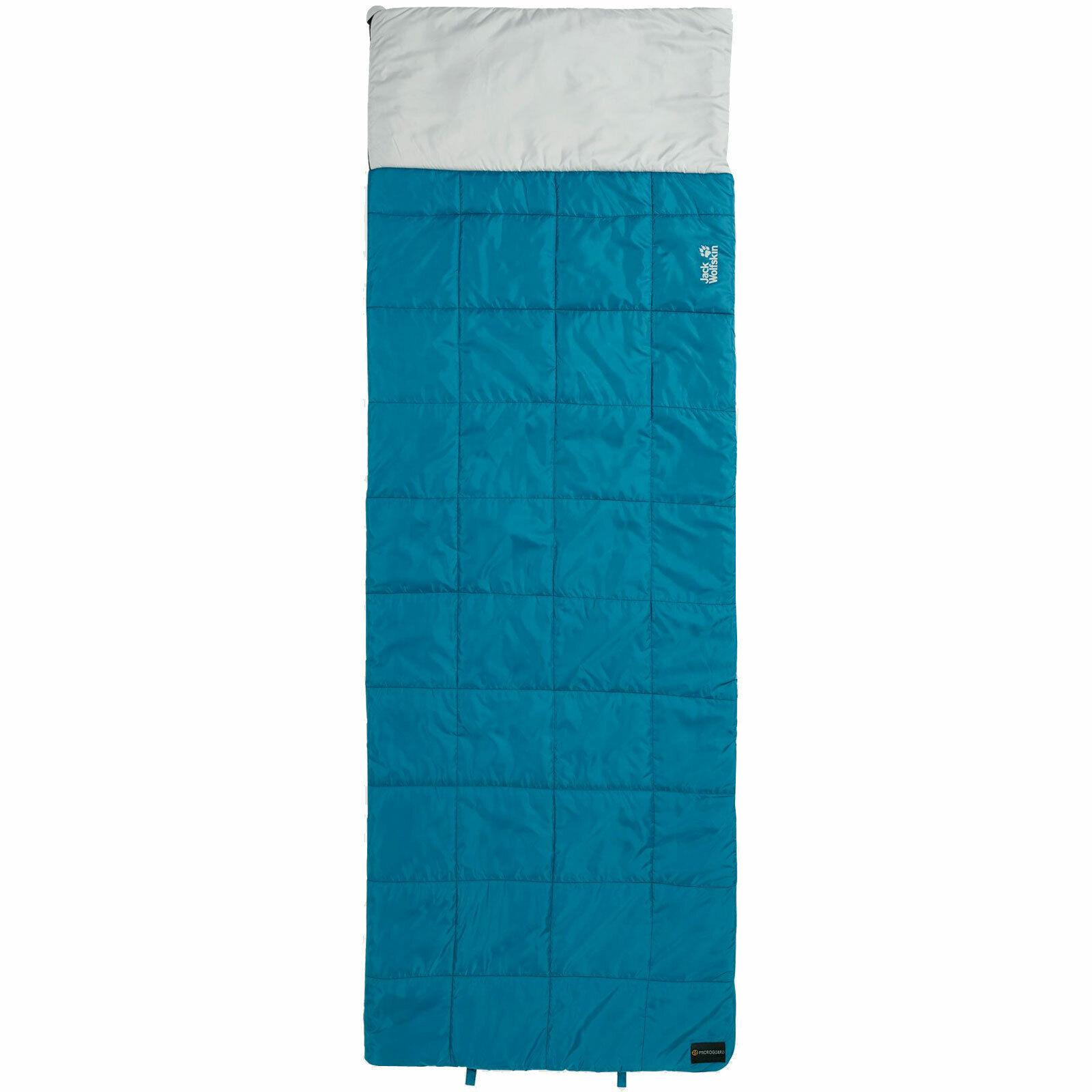Jack Wolfskin 4-in-1 Blanket mantas para dormir saco saco de dormir doble bolsa de sueño nuevo