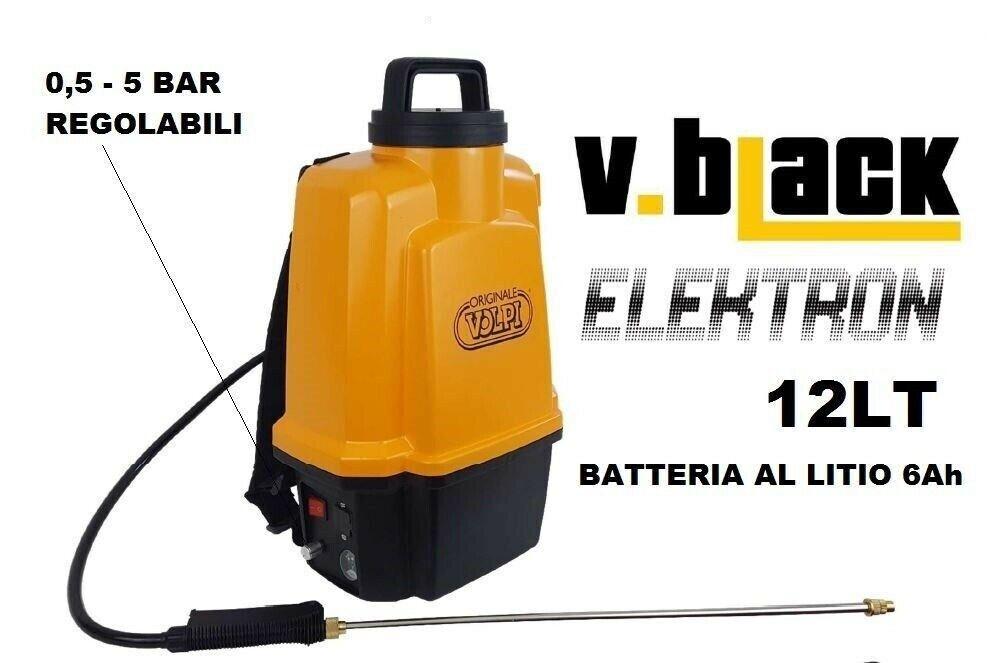 Original Zorros Bomba Eléctrica V-Negro Elektron 12Lt Batería Litio