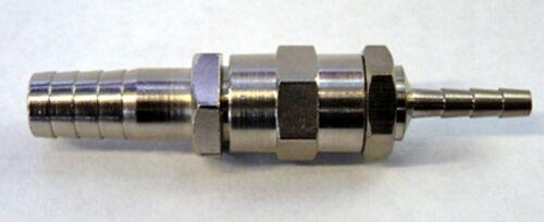 Schlauch-Verbinder Metall mit Tülle in 4 mm auf 10 mm Reduzierstück Zapfanlage