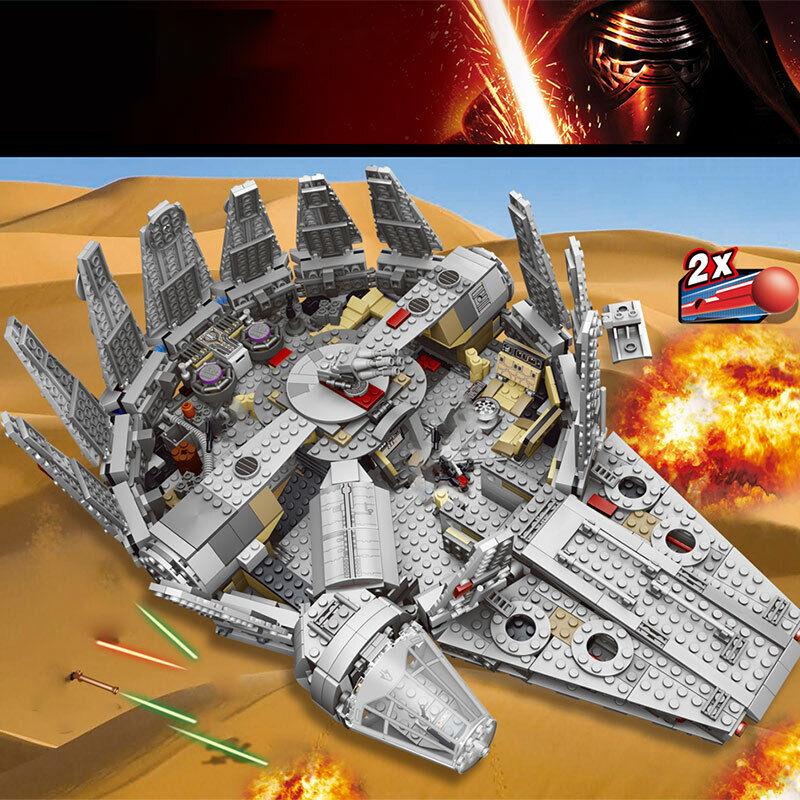 Force Awakens Star Set Wars Millennium 79211Model Building Blocks Bausteine DE