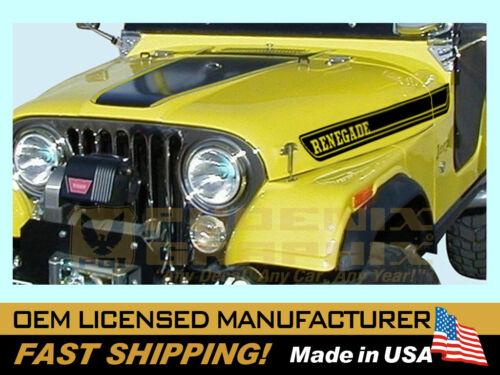 1984 1985 1986 1987 1988 1989 1990 Jeep Renegade Custom Decal Stripe Kit