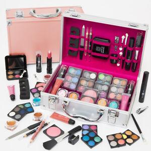 54pcs-Make-Up-Set-amp-Vanity-Case-Beauty-Rose-Gold-Cosmetics-Storage-Box-Nails-Kit
