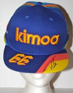 2019-FERNANDO-ALONSO-signed-Kimoa-McLaren-Indy-500-Indy-Car-Snapback-Hat