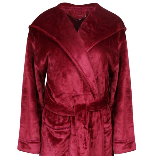 Longer Length Luxuriously Soft and Thick Hooded Wrap Cotton Trend Women/'s Robe