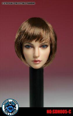 1//6 Scale Female Headsculpt Head Super Duck SDH005-A for Pale Phicen//TBL Body
