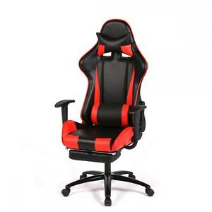 Image is loading Red-Racing-Gaming-Chair-High-back-Computer-Recliner-  sc 1 st  eBay & Red Racing Gaming Chair High back Computer Recliner Office Chair ... islam-shia.org