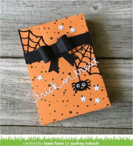 Lawn Fawn Lawn Cuts Die ~ TRICK OR TREAT BORDER  Seasonal Halloween ~LF1490