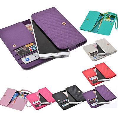 luxury Wallet Card Holder multifunctio soft Cover Case Pouch skin For Doogee