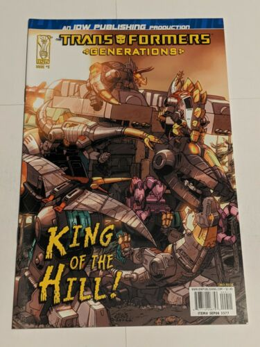 Transformers Generations #4 June 2006 IDW Comics