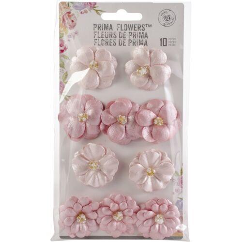 ATHENA Santorin perlé Fleurs en papier 10//pkg