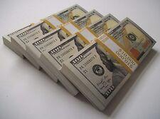 $50K Best Novelty Movie Prop Play Money - Full Print Stacks - Fake Prank Joke!
