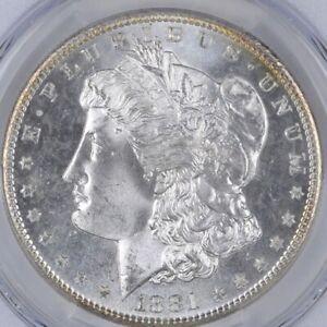 Uncirculated-1881-S-Morgan-Silver-Dollar-1-00-San-Francisco-Minted-BU-Unc