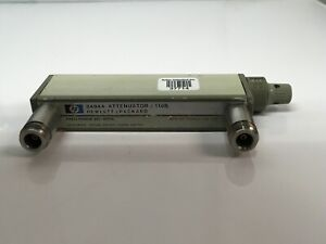 Agilent-HP-8494A-Step-Attenuator-0-11-dB-1dB-Steps-DC-4GHz-Opt-001-Type-N-TESTED