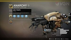 Destiny-2-ANARCHY-10x-Drop-Pack-Only-boss-PS4-SPECIAL-PRICE