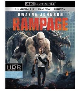 RAMPAGE-4K-UHD-Blu-ray-Digital-HD-NEW-Rampage-DwayneJohnson-Fantasy-SciFi