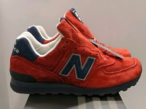 Details about Rare New Balance US574XAD Made In USA Connoisseur Red Men's Size 8.5 Women's 10