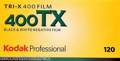 5 x KODAK TRI-X 120 400 120 ROLL CHEAP BLACK & WHITE  FILM by 1st CLASS POST