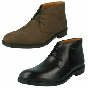 domingo usuario Desconocido  Mens Clarks Formal Lace Up Chilver Hi GTX Gore-Tex Boots | eBay