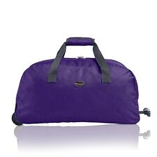 f3bd19d336 Cabin Approved Wheeled Travel Trolley Hand Luggage Suitcase Duffle Holdall  Bag