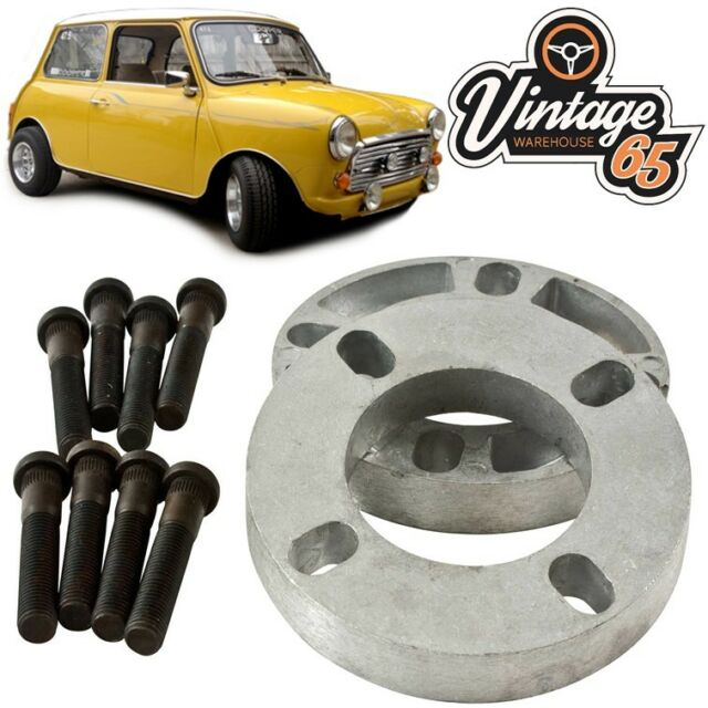 Classic Austin Mini Clubman City 19mm Pair Wheel Spacer Kit For Sale