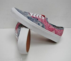 ce3a5bd4c2 Image is loading Vans-Authentic-Liberty-PEACOCK-VN-OU1WN9YN-WOMEN-039-