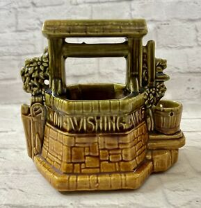 Vintage-McCoy-Pottery-Wishing-Well-Planter-Made-In-USA