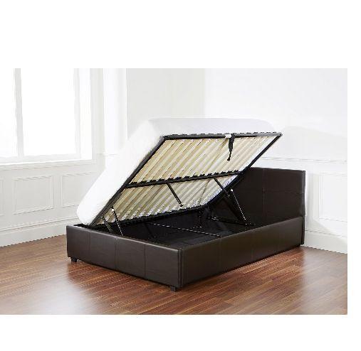 Fine G Range Slo135Blk Double Side Lift Ottoman Bed Ibusinesslaw Wood Chair Design Ideas Ibusinesslaworg