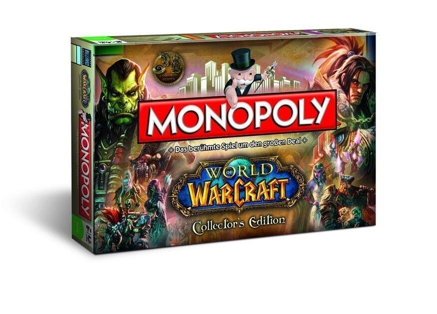 Original - monopoly - spiel world of warcraft collectors edition deutsch.