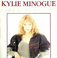 "Kylie Minogue 7"" I Should Be So Lucky - France (VG+/VG+)"