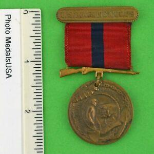 Original-Marine-Corps-Good-Conduct-Medal-WWII-Korean-War-USMC