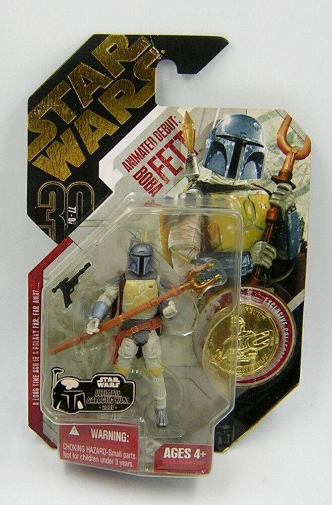 Stjärnornas krig 30 e årsjubileum TAC Ugh Animerad Boba Fett Ultimate Galactic Hunt