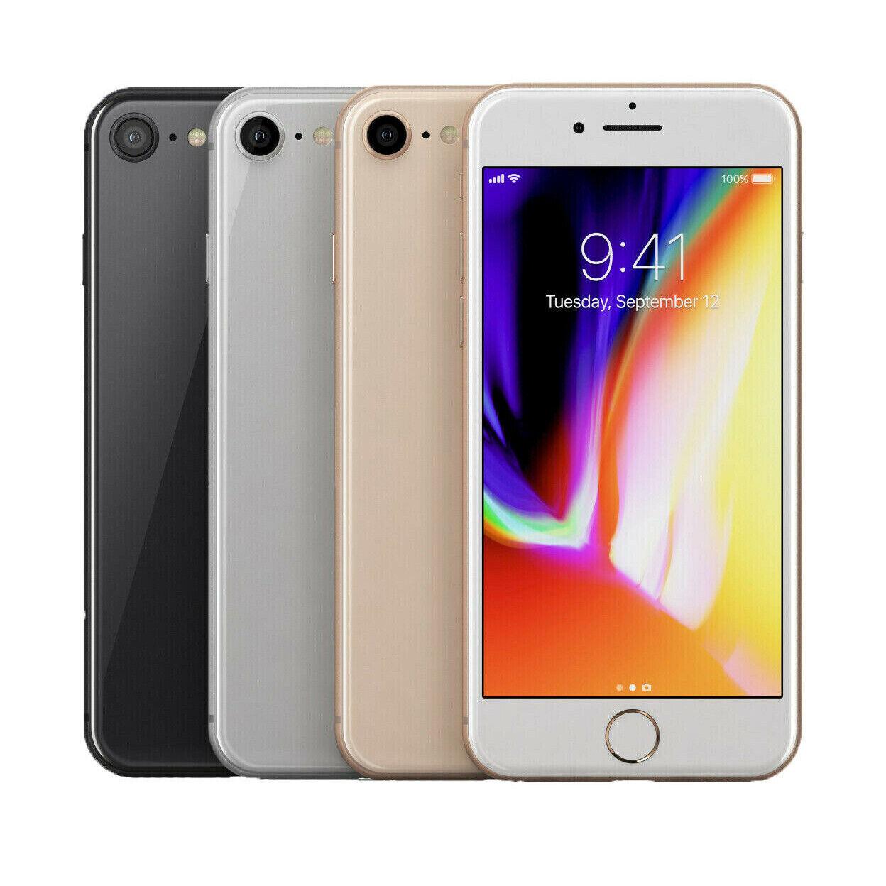 Apple iPhone 8 64GB (Factory Unlocked) Smartphone SR + 3 Month Free Service Plan 1