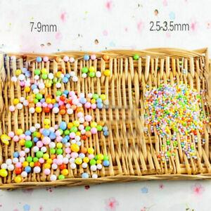 Hot New Assorted Colors Polystyrene Styrofoam Foam Filler Beads Balls Crafts