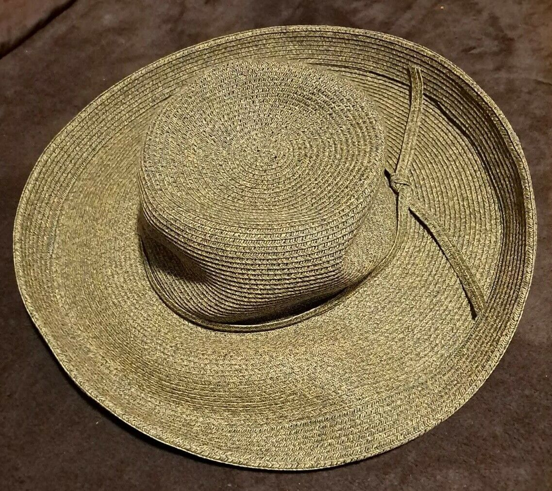 Quality Made! TABRIZI BROWN FEDORA STRAW HAT - GREAT FOR OUTDOORS & TRAVEL